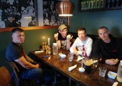20 års Fødselsdag. Simon, Luca, Pierre og Jonas